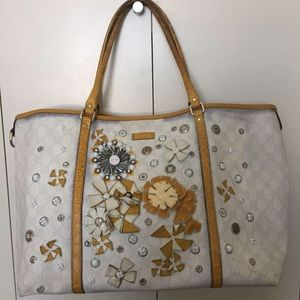Authentic Gucci Limited Edition PVC Leather Bag